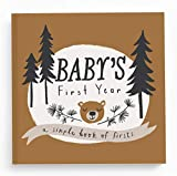 Baby Journal and Photo Album - Baby Books First Year Memory Book