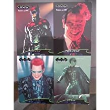 Batman Forever rare uncut card sheet 1990s