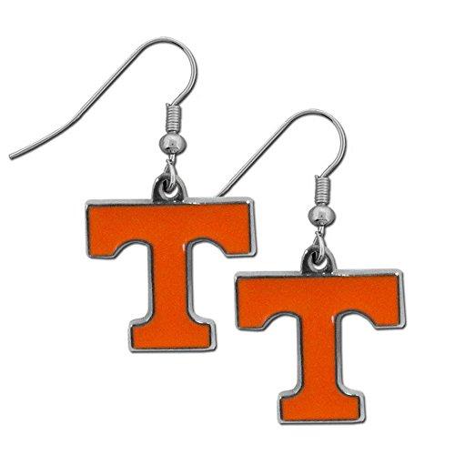 (NCAA Texas Longhorns Chrome Dangle Earrings)