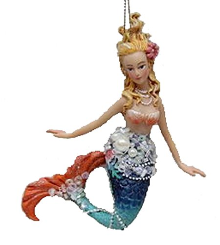 December Diamonds Embellished Mermaid Hanging Ornament