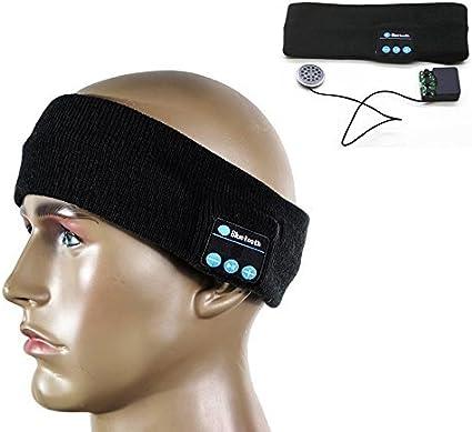 C Xka Bluetooth Musik Stirnband Drahtlose Kopfhörer Sport Musik Stirnband Unisex Headset Bluetooth Haarband Ausgeführt Yoga Fitness Haarband Musik Stirnband Sport Freizeit