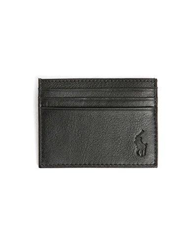 huge discount 9a25c 8ef79 Ralph Lauren Portafoglio - Porta Carte Nero: Amazon.it ...