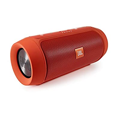 JBL Charge 2+ Splashproof Portable Bluetooth Speaker (Orange)