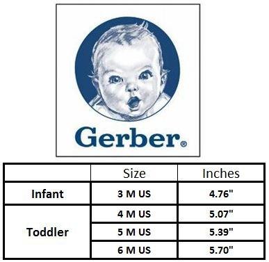 Gerber Baby Rubbersole Early Walker Slip On Sneakers (Infant/Toddler), Denim/Pink, 5 M US Toddler' by Gerber (Image #5)