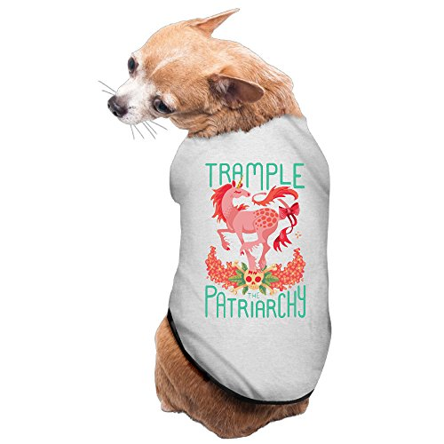 [Trample The Patriarchy Dog Costume Puppy Apparel] (Patriarchy Costume)