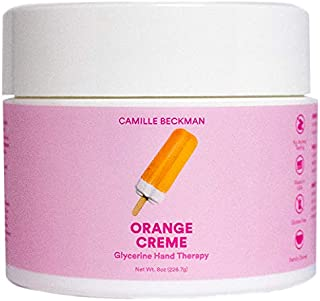 product image for Camille Beckman Glycerine Hand Therapy Cream, Orange Creme, 8 Ounce