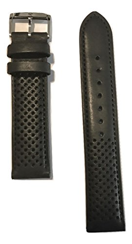 Movado Black Leather Band Strap for Movado Men's Heritage Watch Model: 3650004 -  MOV-769300909