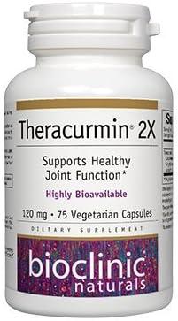 Bioclinic Naturals – Theracurmin 2X 120mg 75 V-Caps