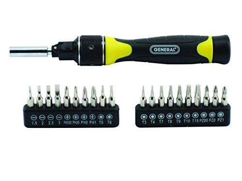 General Tools 70210 Ratcheting Screwdriver