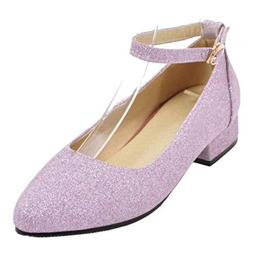 Les Femmes Zanpa Confort Chaussures Plates 1 # Violet