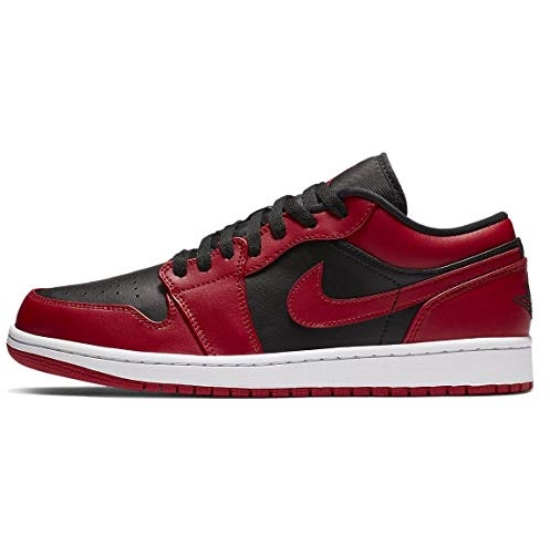 Nike Air Jordan 1 Low Reverse Bred Gym Red Black