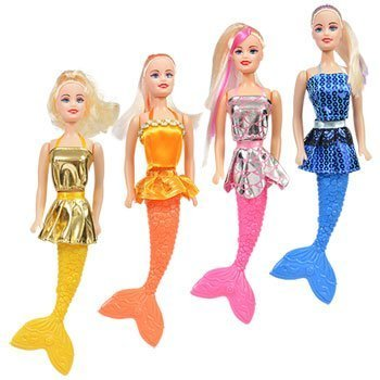 Mermaid Sirene Fashion Dolls, 11 in.