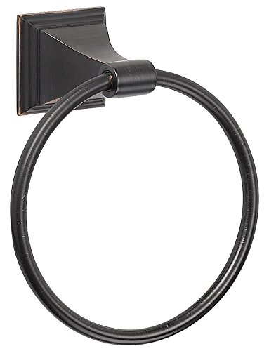 - Designers Impressions 500 Series Oil Rubbed Bronze Towel Ring