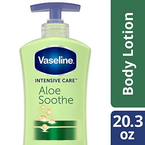 (Vaseline Intensive Care Body Lotion, Aloe Soothe, 20.3)