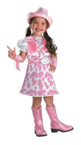 Disguise Wild West Cutie Girls Costume, 4-6X ()