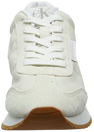 Scamosciata top Bianco Pelle A Nylon ofw Ginnastica Jeans Donne Colette 000 Da Basso Scarpe Klein Calvin Delle Off wx8qWZnACv