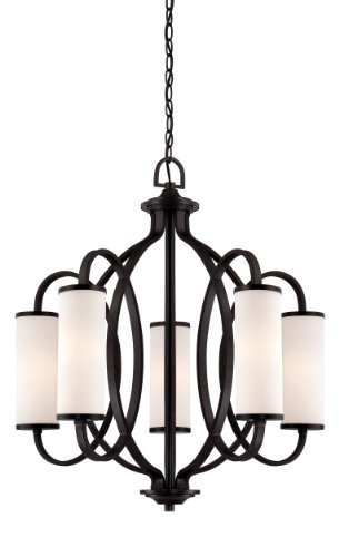 Designers Fountain 84485-ART Bellemeade Chandeliers, Artisan Finish