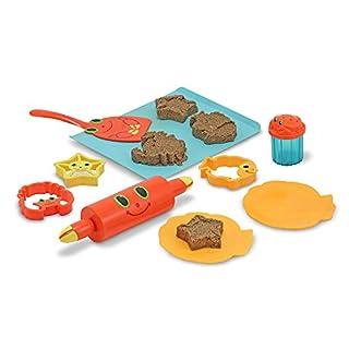Melissa & Doug Seaside Sidekicks Sand Cookie Set,White