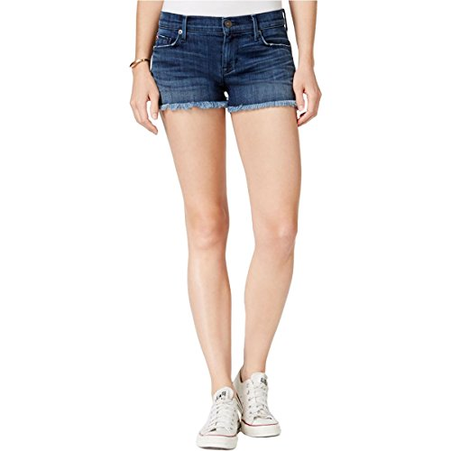 Hudson Jeans Women's Amber Raw Edge Hem 5 Pocket Jean Short, Blue Crest, ()
