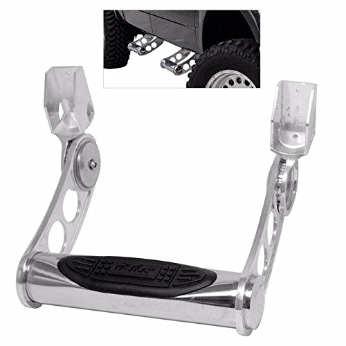 Pilot Side Step (BULLY T-304 3in Stainless Steel Single Truck Bed Side Step Nerf Bar w/ Multi-Level Adjustment for Height)