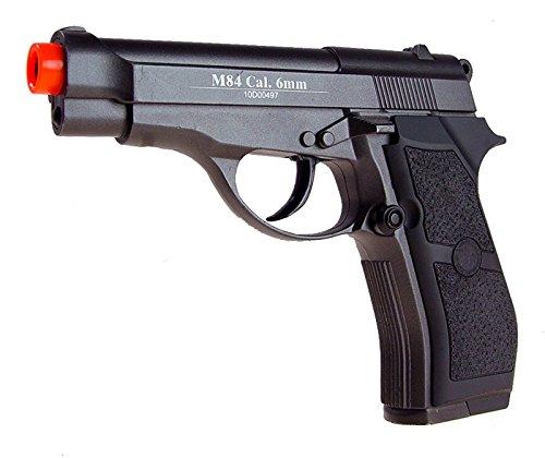 wg model-4301 m84 full metal co2 non-blowback pistol/black(Airsoft Gun)