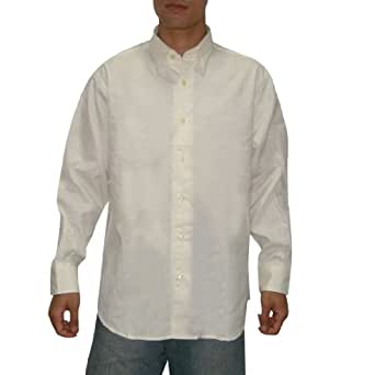 Tommy Bahama Mens Button Down Long Sleeve Shirt Large White