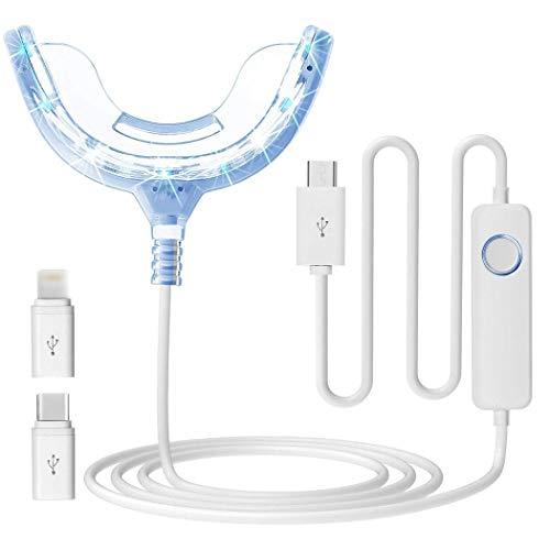 Kindsells Teeth Whitening LED Light Whitening Enhancer Light Trays Oral Care Tool Teeth Whitening