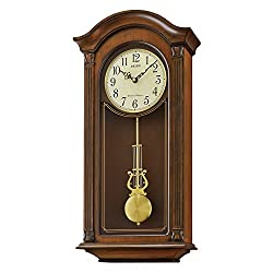 Seiko Wood Wall Clock (Model: QXH066BLH)