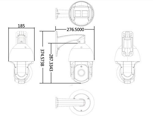 Sunba 1080p Hd Poe 20x Optical Zoom 4 7 94 0mm Laser