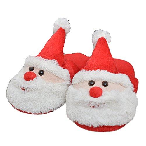 di 40 novità Kenmont 36 Donne bianca Slip europea Regali peluche Fantasia adulti on ideali Natale unicorno con morbido 41 pantofole della compatibile 39 Festival Taglia SSR6Tn