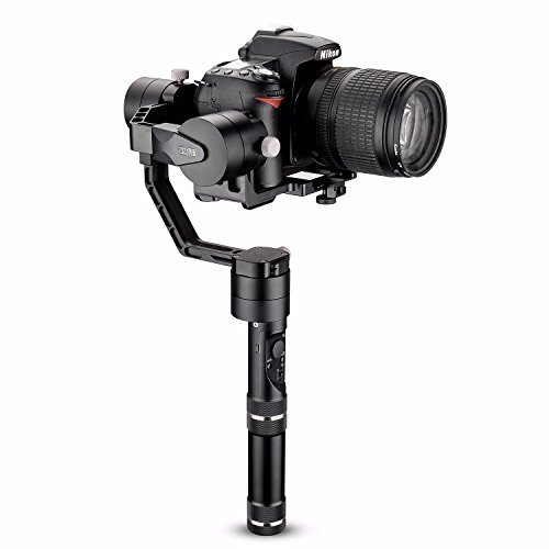 Zhiyun Crane V2 3 Axis Brushless Handheld Gimbal Stabilizer for DSLR Sony A7 Series/Panasonic LUMIX Series/Nikon J Series Canon M Series