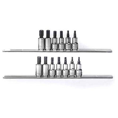 13 Pc Sae//Metric Craftsman Industrial Socket Accessory Set