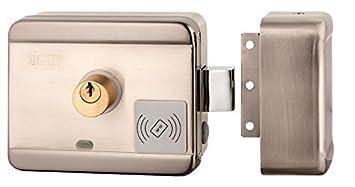 Cerradura eléctrica con mando a distancia de puerta y portón