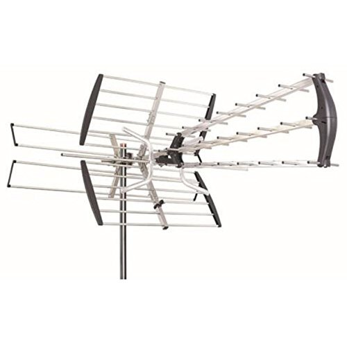 Antenna Amplified HDTV 180 Mile 1080P Outdoor HD TV Antenna Digital UHF/VHF FM Radio