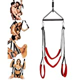 Adult Indoor Swing Set, Swing Hanging Swings for Comfortable Support with Strong Nylon