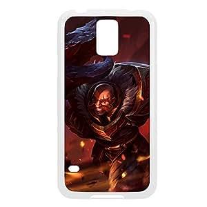 Braum-002 League of Legends LoL case cover HTC One M8 - Plastic White