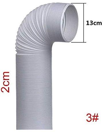 "tubo flessibile in PVC per Asciugatrice essiccatori//Ventilatore Canalizzazione 4/"" Lungo 3m 102mm"