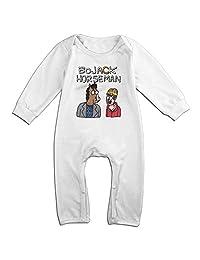 Kids BoJack Horseman Baby Bodysuits Unisex Boys Girls 100% Cotton Long Pants Jumpsuit