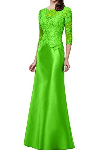 Grün Ivydressing Abendkleider Etui Bodenlang Partykleider 2017 Traum Brautmutterkleider Spitze Neu Satin vwxUp1qTvr