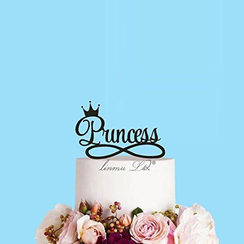 Tremendous Amazon Com Creative Princess Birthday Cake Crown Cake Baby Or Funny Birthday Cards Online Elaedamsfinfo