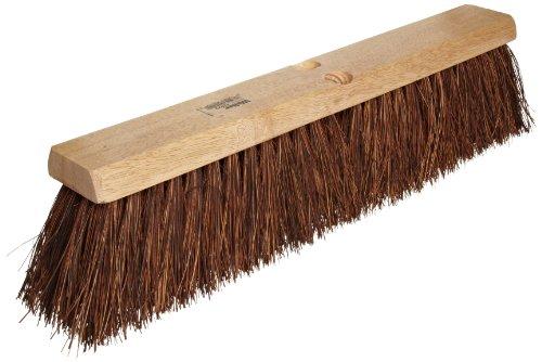 Weiler 42022 Palmyra Fiber Garage Brush with Wet Or Dry Sweeping, 2-1/2