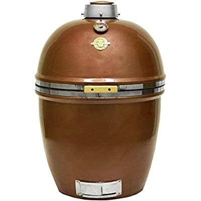 Grill Dome Infinity Series Ceramic Kamado Charcoal Smoker Grill by Grill Dome