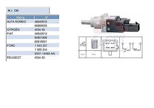 Facet 7.1161 Interruttore luce freno; Innesto Comando disinnesto frizione