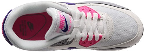 Multicolore White Donna Purple 90 136 Air Max Running Wolf Scarpe Grey NIKE Pink Laser Court UqAY0Sx