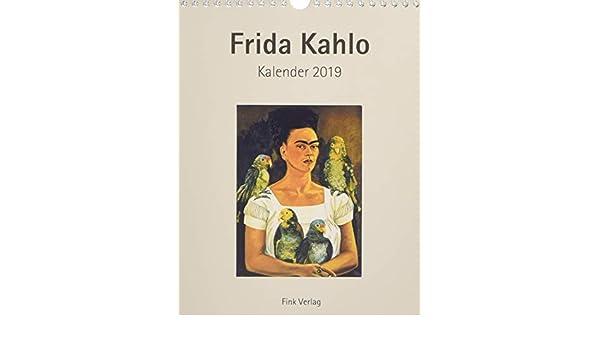 Frida Kahlo 2019. Kunstkarten-Einsteckkalender ...