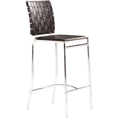 Criss Cross Counter Chair Black (Criss Cross Counter Chair)