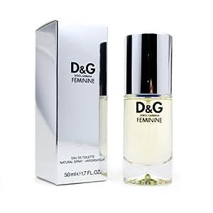 Dolce and Gabbana Feminine Eau de Toilette - 50 ml: Amazon.co.uk: Beauty