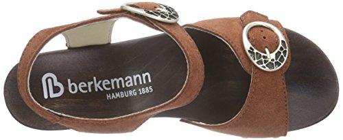 Berkemann Adalie - Sandalias de tobillo Mujer Marrón - Braun (414 rost)
