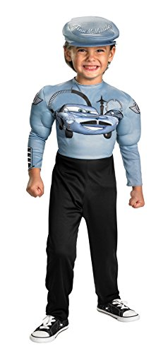 Finn McMissile Muscle Classic Costume - -