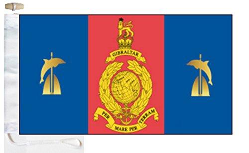 1 Assault Group Royal Marines Courtesy Boat Flag - 2 Yard -